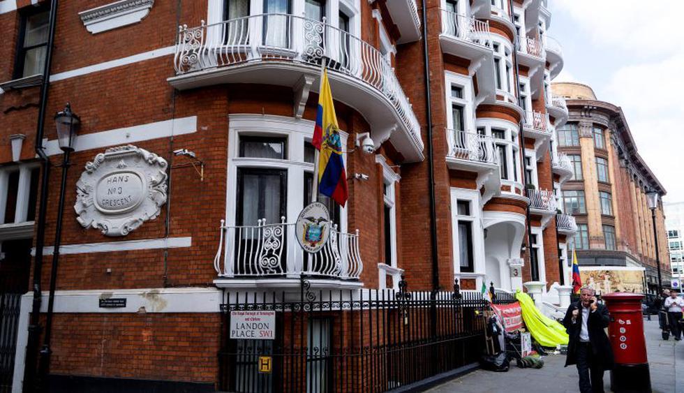 """""""Se ha acabado la pesadilla, que alivio"""", dicen los ex vecinos de Assange en Londres. (Foto: AFP)"""