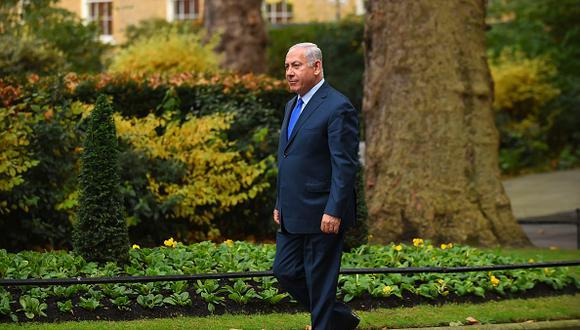 Benjamin Netanyahu apoyó la medida de Donald Trump. (Getty Images)