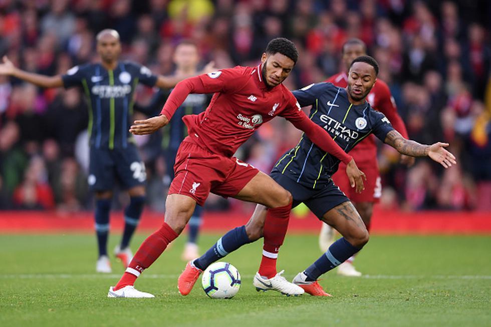 Liverpool igualó 0-0 con Manchester City en Anfield por la Premier League. (Getty)