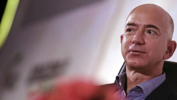 Jeff Bezos, fundador de Amazon. (Foto: EFE)