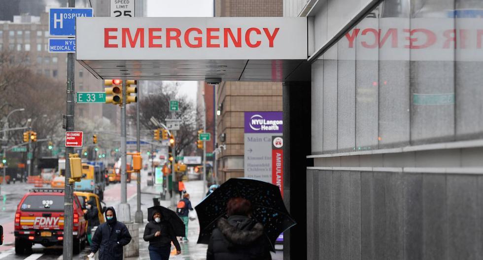 En los últimos días la ansiedad aumentó en Nueva York, el epicentro de la pandemia de coronavirus en Estados Unidos. (AFP/Angela Weiss).