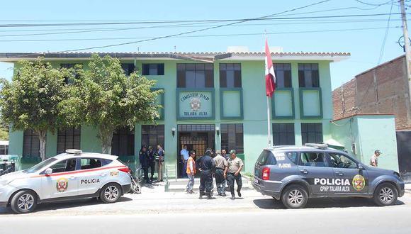 Piura: Agentes de la comisaría de Talara intervinieron a un suboficial dela FAP, acusado de intento de feminicidio en agravio de su esposa, a quien habrían intentado atacar con un machete. (Foto Archivo GEC)