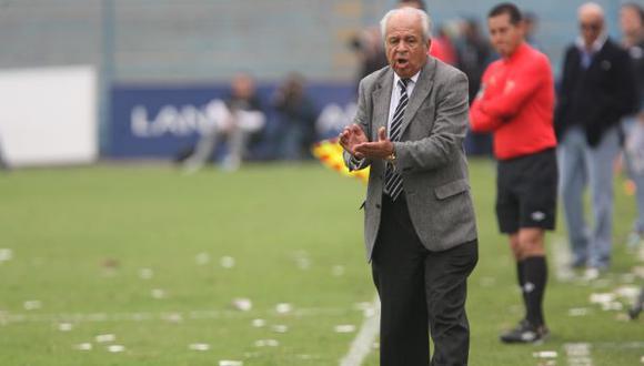 El agente del técnico uruguayo está en Lima. (USI)