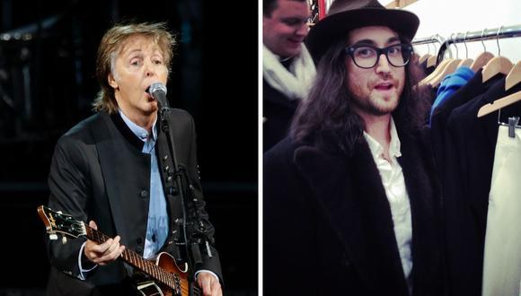 Sean Lennon entrevistó a Paul McCartney recordando cómo conoció a su padre, John Lennon, en Liverpool. (Fotos: AFP/ Bertrand Guay / Kamil Krzaczynski)