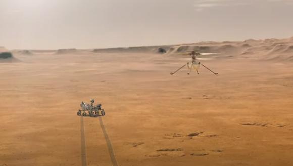 """La propuesta de la alumna de la Escuela de Secundaria Tuscaloosa County fue una de las 28.000 que participaron en el concurso de ensayos """"Pon nombre al rover"""" realizado por la agencia espacial estadounidense en todo el país. (Captura de video / YouTube)."""