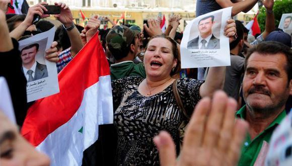 Siria: Bashar al Assad anuncia que va por la re-reelección. (AFP)