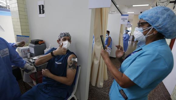 La campaña de vacunación inició este martes. (Fotos: Francisco Neyra/ @photo.gec)