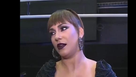 Tilsa Lozano habla sobre las últimas declaraciones de su ex y padre de sus hijos, Miguel Hidalgo. (América TV)
