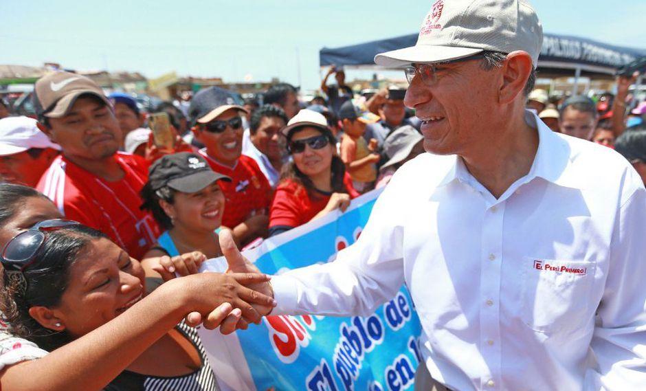 El presidente Martín Vizcarra evitó responder los ataques personales de parte de Nicolás Maduro. (Foto: Presidencia de la República)