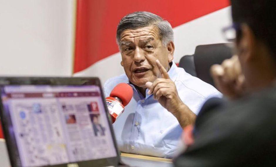 César Acuña adelantó que su partido buscará tener a futuro una bancada de 20 integrantes. (Foto: Facebook /César Acuña)