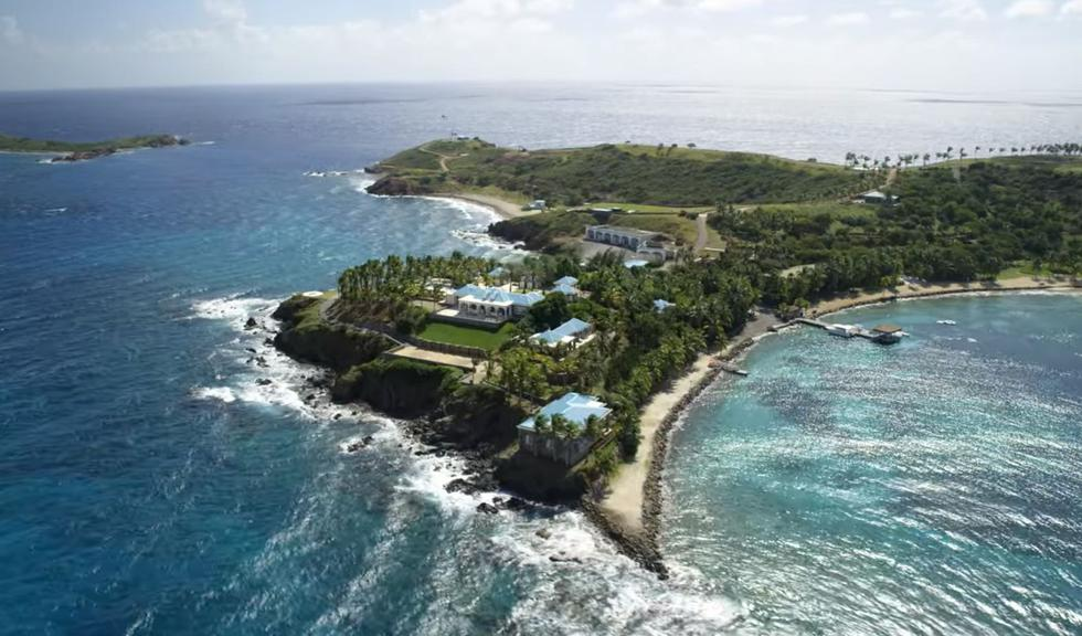 Google Maps: Así lucen la isla y el rancho del terror donde Jeffrey Esptein realizaba orgías y perversiones con menores. (Netflix)
