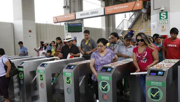 Defensoría del pueblo cuestiona nuevo sistema de cobro en Metro de Lima. (USI)