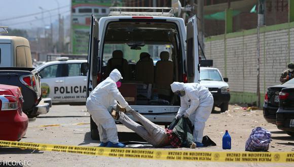 La cantidad de fallecidos aumentó este domingo. (Foto: Hugo Curotto/GEC)