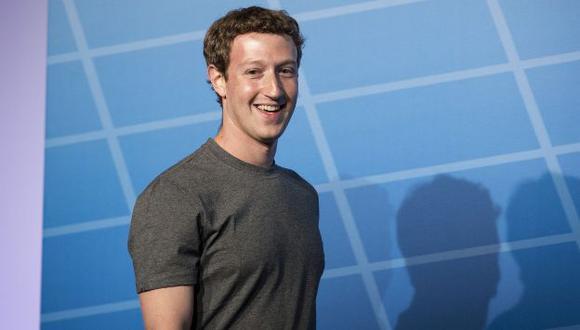 Mark Zuckerberg, fundador de Facebook, recibió un dólar de sueldo en 2013. (Bloomberg)
