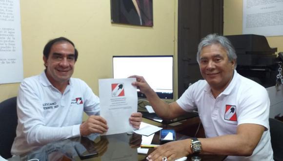 Yonhy Lescano asegura que presentará un plan de Gobierno completo más adelante (Acción Popular).
