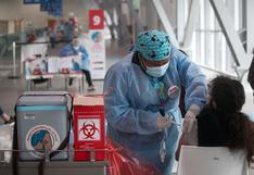 Más de ocho millones de peruanos ya fueron inmunizados contra el coronavirus