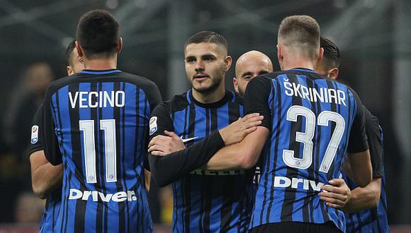 Mauro Icardi lleva once conquistas en la presente temporada del fútbol italiano. (Getty Images)