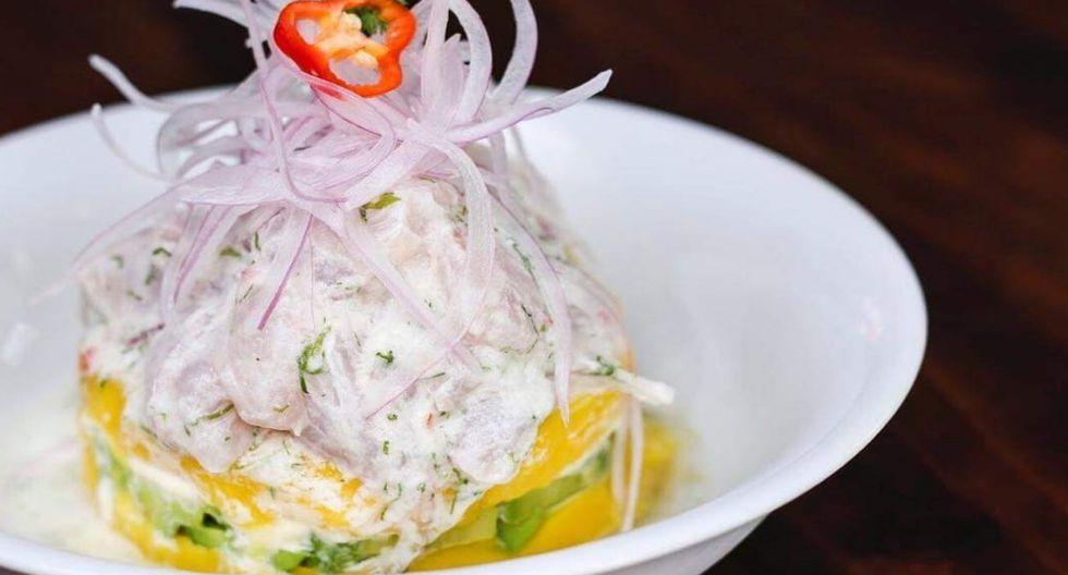 Causa acevichada, una creación de Amankaya que te ofrece 650 gramos de puro sabor.