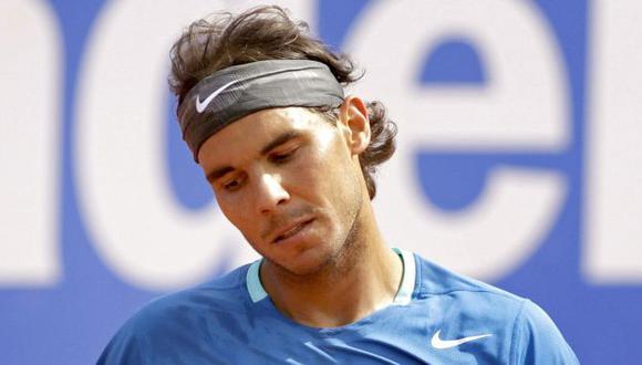 Rafael Nadal cayó en cuartos de final del Torneo de Barcelona. (EFE)