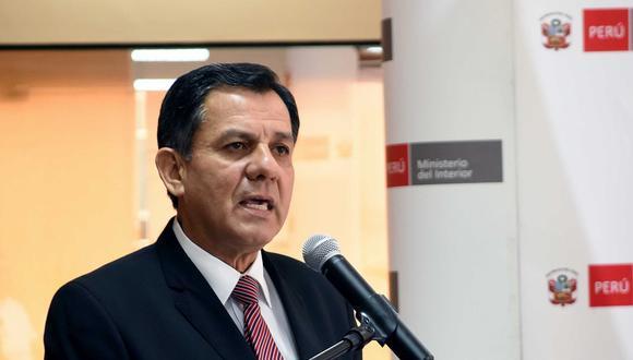 Mauro Medina destacó la labor de la Policía en el caso 'Matute'. (Foto: Andina)