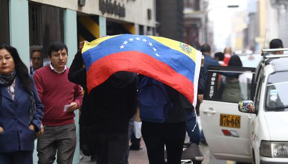 La mayoría de venezolanos emigraron con su grupo familiar (51%), mientras que un 37% salieron solas. (Foto: Alessandro Currarino)