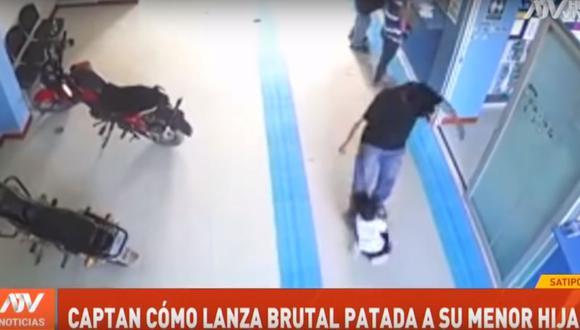 La agresión contra la niña ocurrió en las instalaciones de la empresa de energía eléctrica Egepsa, el pasado miércoles 22 de mayo. (ATV)