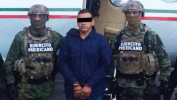 El capo mexicano estaría relacionado con la desaparición de tres ciudadanos de nacionalidad italiana en Tecalitlán, Jalisco. (Foto: Captura / Fiscalía de México)