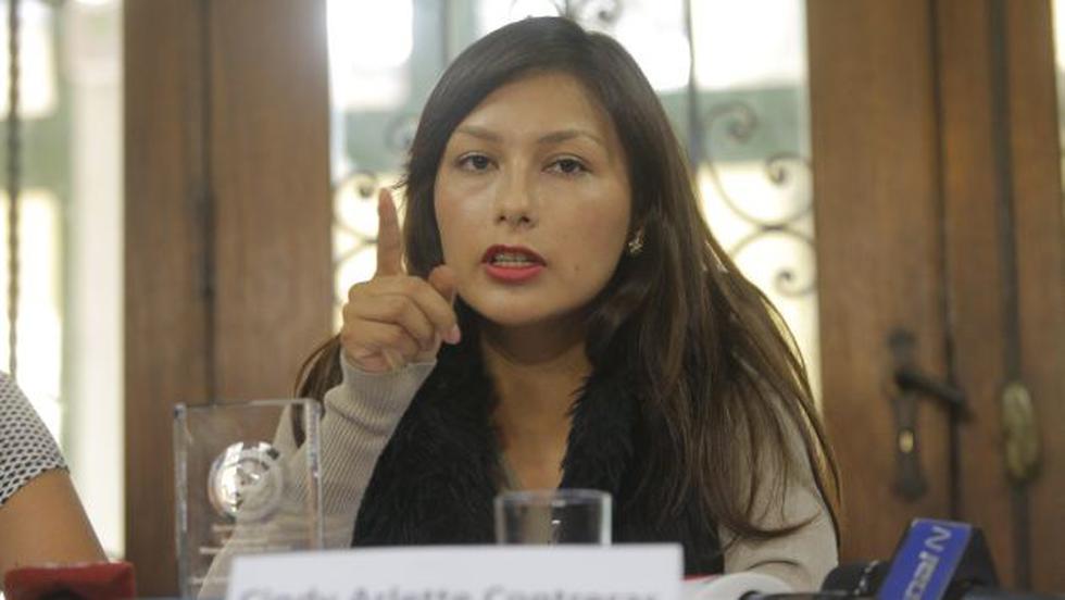 """Arlette Contreras tras mensaje a la nación: """"Se trata de acciones y no solo palabras"""". (Luis Centurión/Perú21)"""