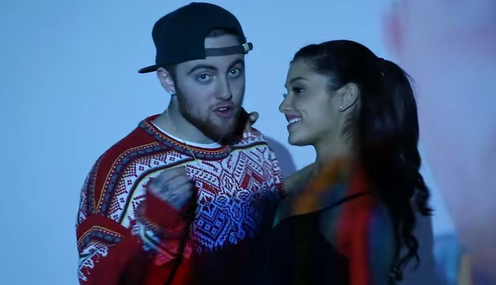 """Ariana Grande celebró el sexto aniversario de """"The Way"""", tema que grabó con Mac Miller. (Fotos :Captura de video)"""