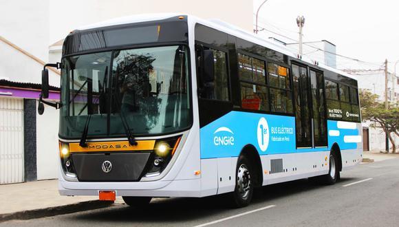 El bus eléctrico cuenta también con un sistema anti COVID-19. (Foto: Engie)