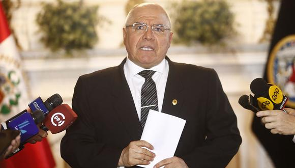 César San Martín dijo que espera que el Congreso llegue pronto a un acuerdo sobre el deshacinamiento de los penales. (Foto: GEC)