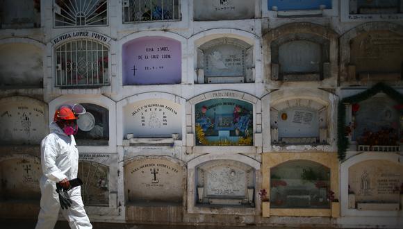 La cantidad de fallecidos aumentó este sábado. (Foto: Hugo Curotto/GEC)