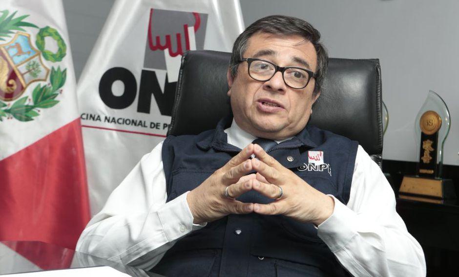 Adolfo Castillo llegó a la jefatura de la ONPE luego tras la designación del Consejo Nacional de la Magistratura. (USI)