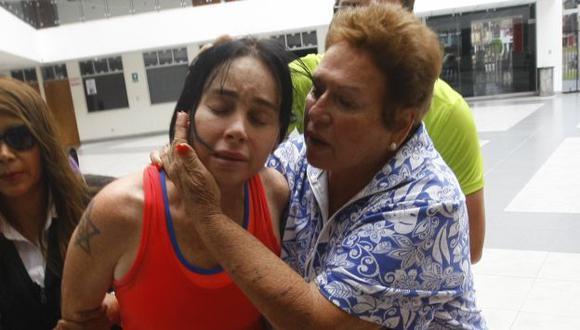 Detienen a madre de Silvana Buscaglia por intentar ingresar celular a penal. (USI/Andrés Cuya)