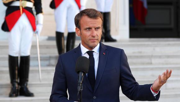 """Macron señaló que un beneficiario no podrá rechazar """"más de dos ofertas razonables de empleo"""" adaptadas a su situación. (Foto: EFE)"""