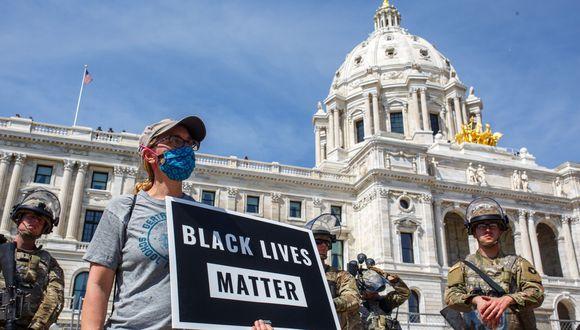 Protestas en todo Estados Unidos por la muerte de George Floyd (Photo by Kerem Yucel / AFP)