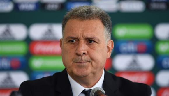 Gerardo Martino fue anunciado entrenador de la selección de México en enero pasado. (Foto: AFP)