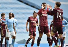 Leeds United venció 2-1 a Manchester City con solo ¡dos remates al arco! | VIDEO