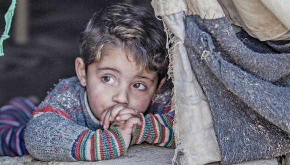 Uno de cada tres niños en Siria sólo ha conocido la guerra. (Unicef 'No Place for Children')
