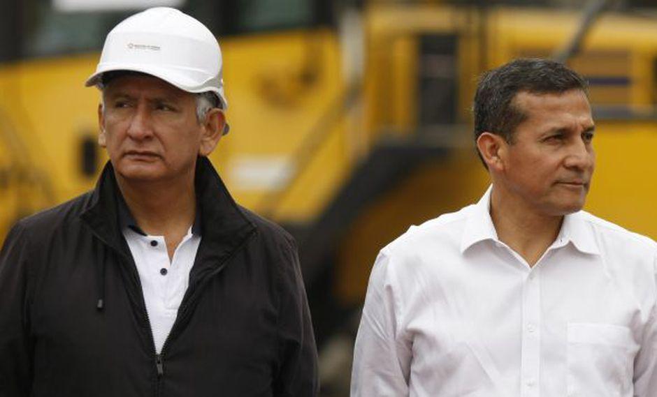 Ollanta Humala aclaró que René Cornejo no tiene cheque en blanco. (Perú21)