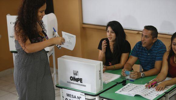 Elecciones Municipales Complementarias (EMC) se realizará en 12 distrito el próximo 7 de julio. (Foto: GEC)