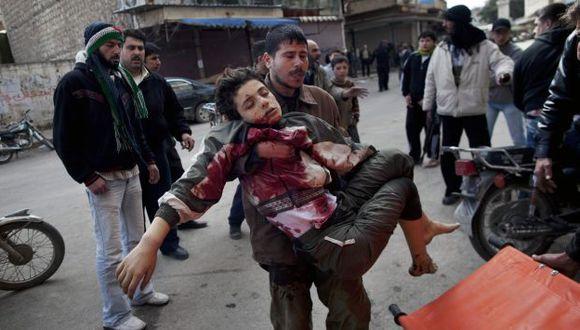 """BARBARIE. Según investigadores de la ONU, las fuerzas sirias sometieron a civiles a """"castigo colectivo"""". (AP)"""