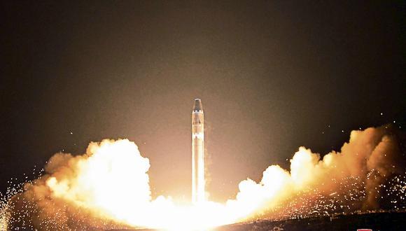 Gobierno de Kim Jong-un indica que en 2017 ejecutó 16 pruebas de misiles en total. (USI)
