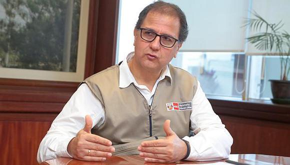 Francisco Ísmodes, ministro de Energía y Minas. (Foto: GEC)