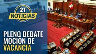 Pleno debate admisión de moción de vacancia presidencial