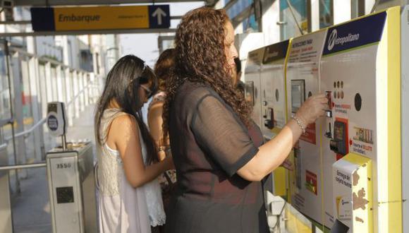 Metropolitano y corredores viales no podrían conectarse con una sola tarjeta. (Perú21)