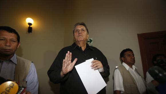 """El ex presidente dijo que le resulta importante confiar en que en el Perú """"hay independencia de poder"""". (Foto: Mario Zapata / GEC)"""