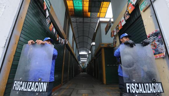 El código de la mafia. (Municipalidad de Lima)