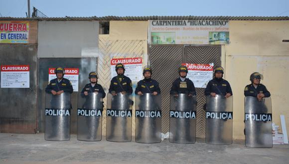 La Municipalidad de La Molina ha clausurado 53 locales comerciales informales. (Foto: Facebook)
