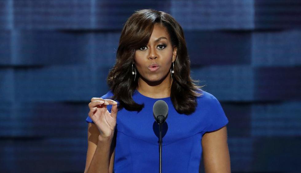 Las mejores frases del emotivo discurso de Michelle Obama durante la convención demócrata en Estados Unidos. (AP)